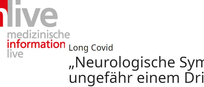 Long Covid und ME/CFS